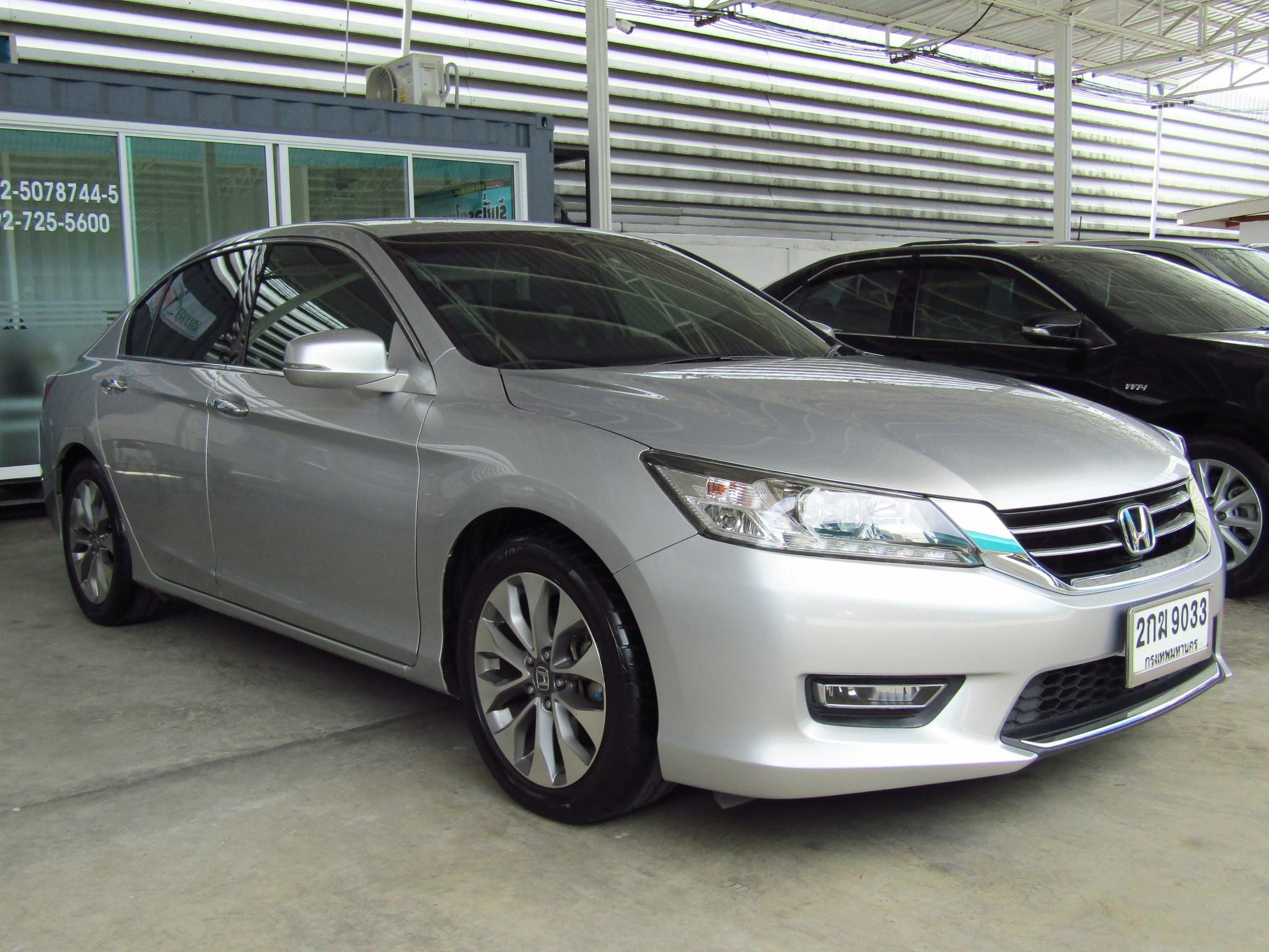 Honda Accord (101,xxx) EL  2.4 AT Sedan (ผ่อน 16,559 บาท 48เดือน)