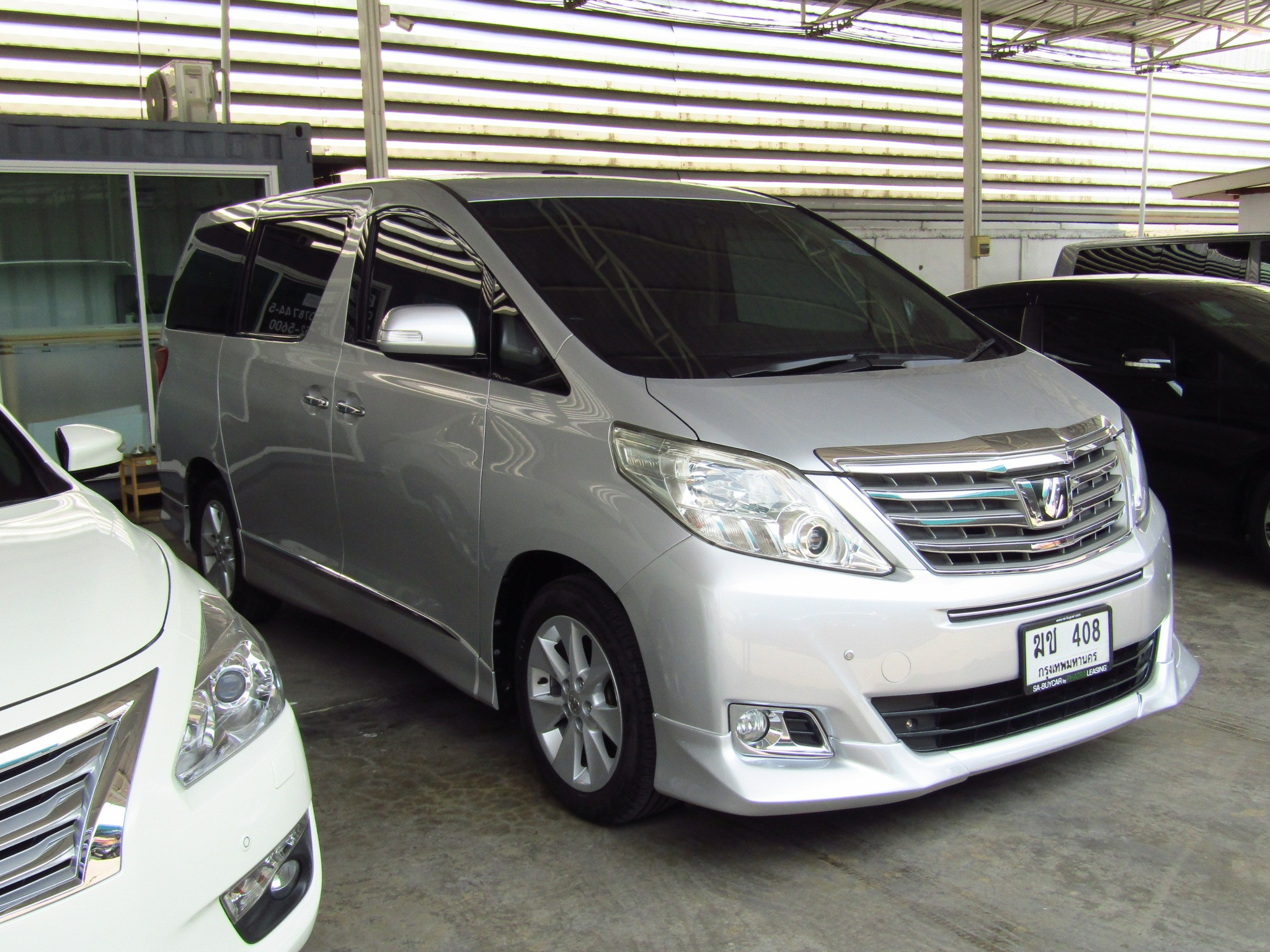 Toyota Alphard (117,xxx)  2.4 V AT Van  (ผ่อน 33,580 บาท*48เดือน )