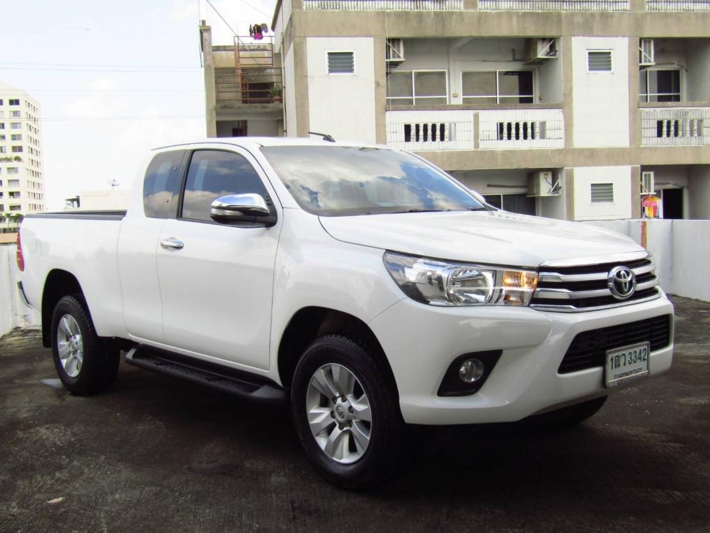 Toyota Hilux Revo (53,xxx)  SMARTCAB PRERUNNER 2.8 G MT Pickup  (ผ่อน 7,330บาท*60เดือน)