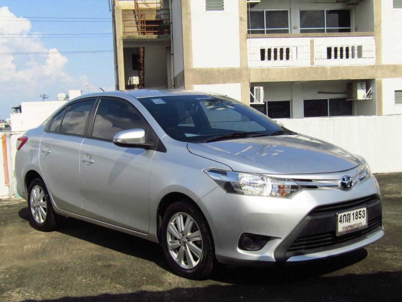 Toyota Vios 1.5 E (54,xxx)  AT Sedan  (ผ่อน 4,920 บาท*60เดือน)