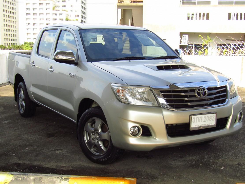 Toyota Hilux Vigo (79,xxx)  DOUBLECAB 2.5G VNT MET (ผ่อน  6,490บาท*60เดือน)