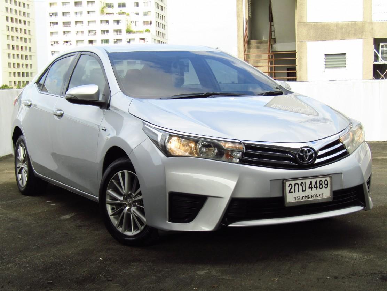 Toyota Corolla Altis  (103,xxx) G 1.6 AT Sedan  (ผ่อน  6,820บาท*60เดือน)