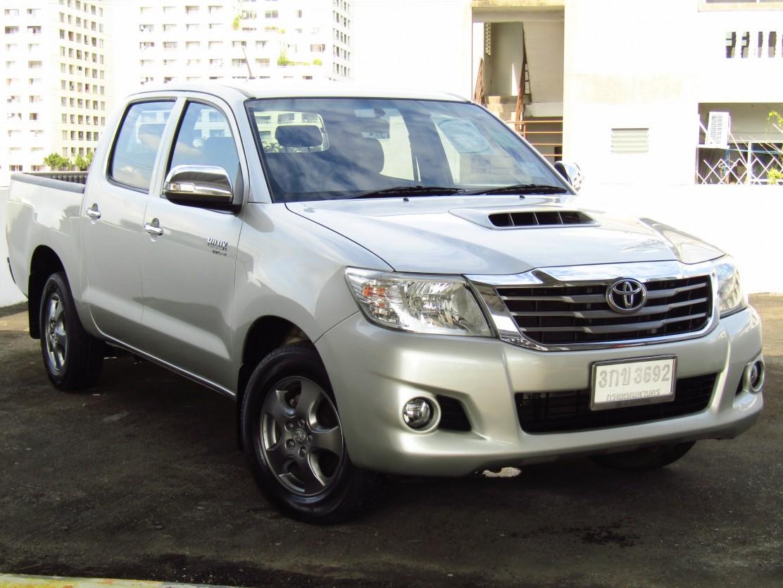 Toyota Hilux Vigo (77,xxx)  DOUBLECAB 2.5G VNT MET  (ผ่อน  6,490บาท*60เดือน)