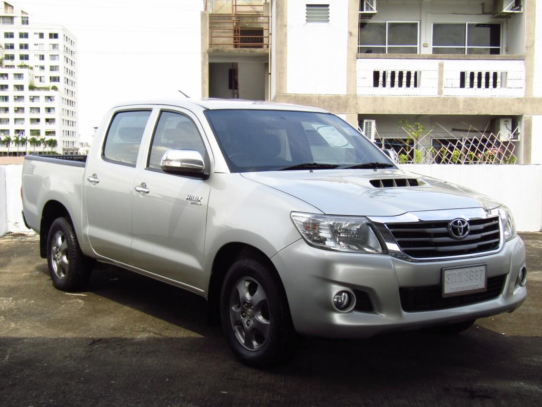 Toyota Hilux Vigo (92,xxx)  DOUBLECAB 2.5G VNT MET (ผ่อน  6,490บาท*60เดือน)