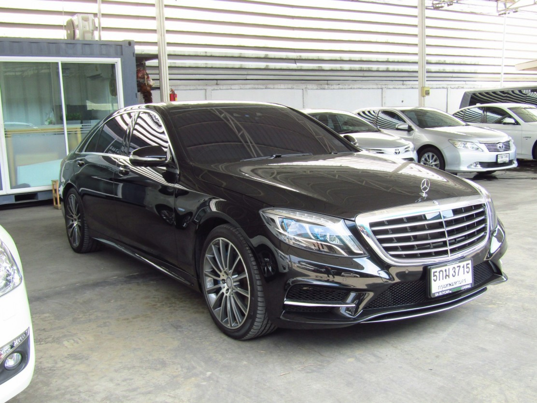 Mercedes-Benz S500 e  (63,xxx) AMG Premium Sedan AT  (ผ่อน 89,160 บาท*48เดือน)