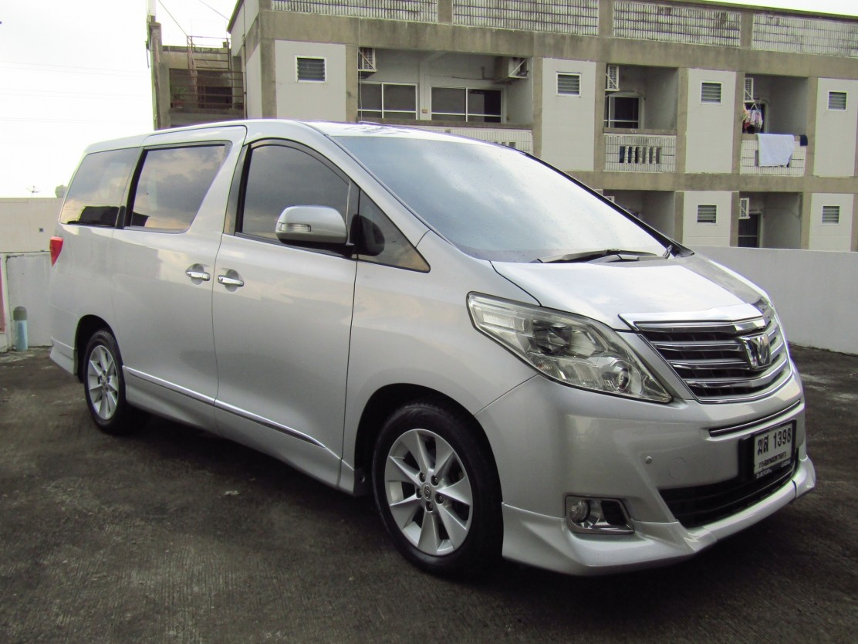 Toyota Alphard (110,xxx) V 2.4 AT Van  (ผ่อน 33,580*48เดือน)