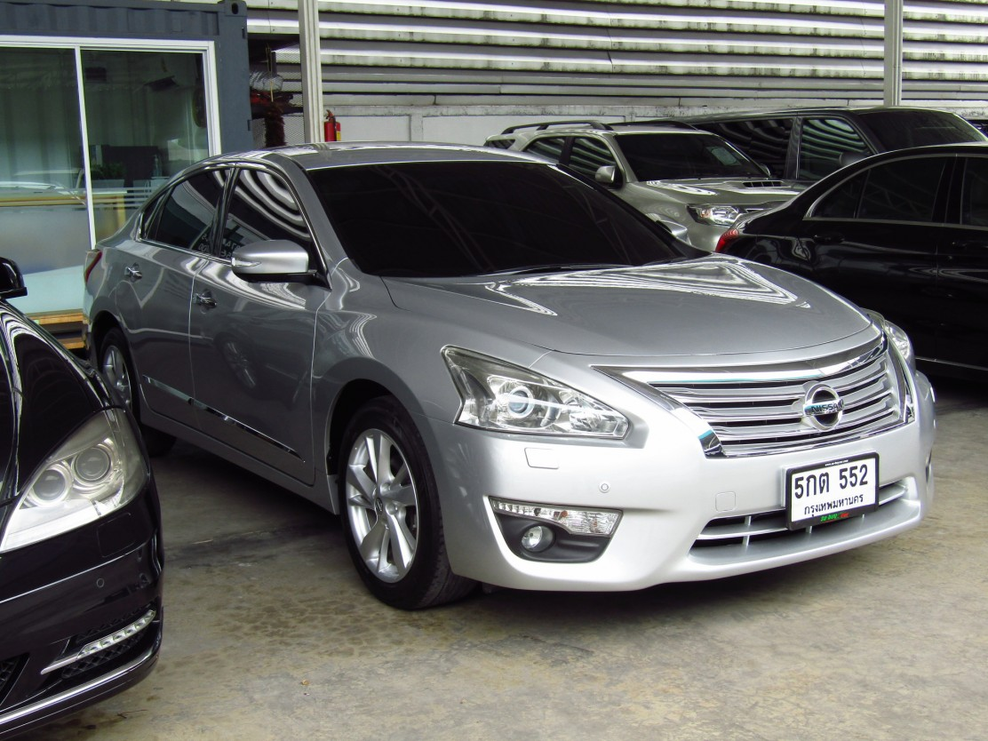 NISSAN ALL NEW TEANA (99,xxx)  2.5 XV Navi Sedan AT  (ผ่อน 15,403บาท*48เดือน)