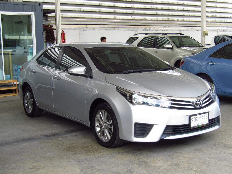 Toyota Corolla Altis  (115,xxx) G 1.6 AT Sedan (ผ่อน 7,170บาท*60เดือน)