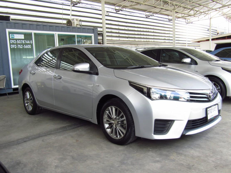 Toyota Corolla Altis  (75,xxx) G 1.6 AT Sedan (ผ่อน 7,170บาท*60เดือน)